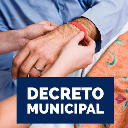 Prefeitura de Tabapuã (SP) determinou uso de pulseira para identificar pacientes com covid-19 - Reprodução/Facebook/Prefeitura de Tabapuã
