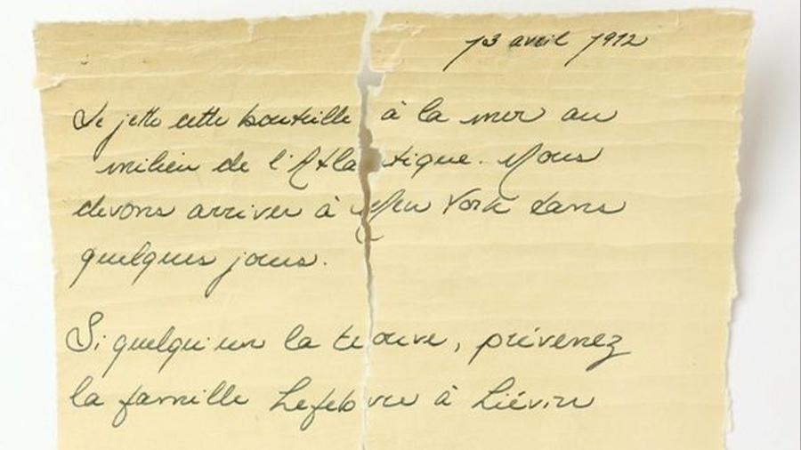 Carta foi encontrada dentro de garrafa - Nicolas Beaudry-UQAR/Pen News