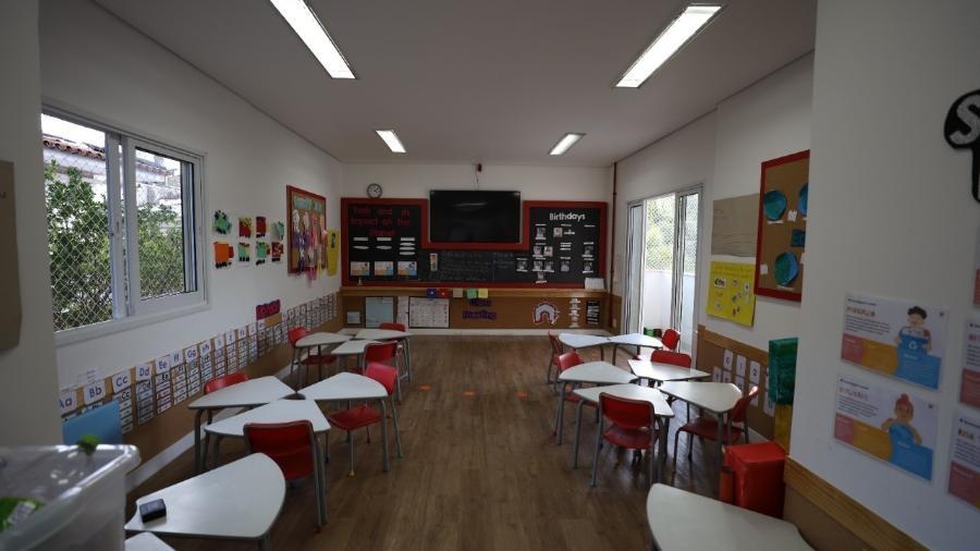 Turmas das unidades do Pacaembu e de Higienópolis, da Red House International, terão lanche servido dentro da sala de aula - Divulgação/Red House International School