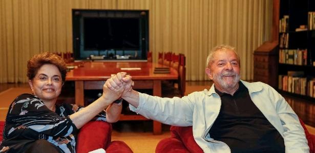 Ex-presidentes Dilma e Lula