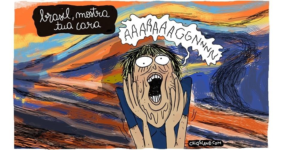 12.set.2016 - Esta é a verdadeira cara do brasileiro atualmente?