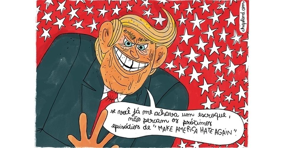 14.nov.2016 - Trump lança novo bordão para seu governo