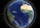 Lixo espacial em órbita torna viagens ao espaço muito mais perigosas (Foto: BBC)