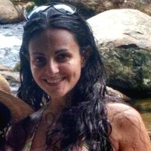 A publicitária Maria Cláudia Pedace, atingida por tiro em posto de gasolina