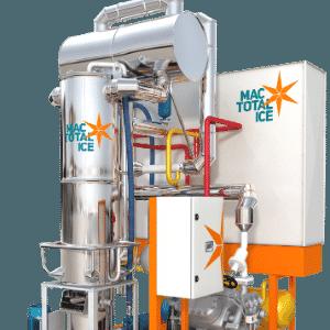 Equipamento para fabricar gelo da Mac Total Ice - Divulgação