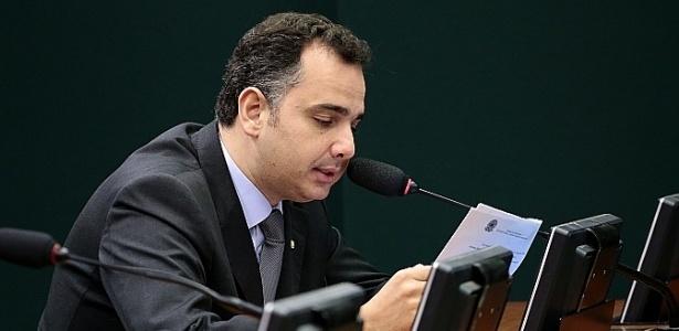 Presidente da Comissão de Constituição e Justiça da Câmara, Rodrigo Pacheco (PMDB-MG)