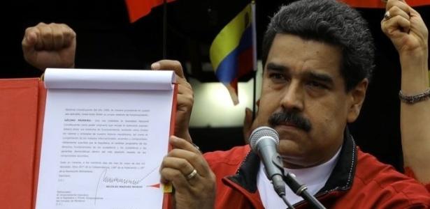 Nicolás Maduro apresentou as bases para a eleição da Assembleia Constituinte, rejeitada pela oposição