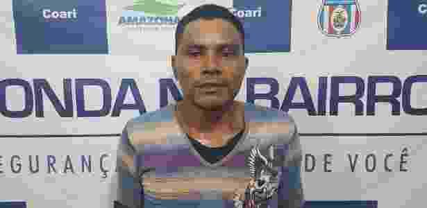 """""""Pirata"""" Artur Gomes da Silva confessou ter cortado pescoço de britânica no Amazonas - Divulgação/Polícia Civil - Divulgação/Polícia Civil"""