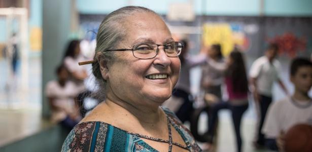 Leonor Lopes, professora-mediadora de conflitos de uma escola pública de São Paulo