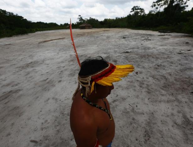 Índios Ka'apor vivem em Terra Indígena Alto Turiaçu, no oeste do Maranhão