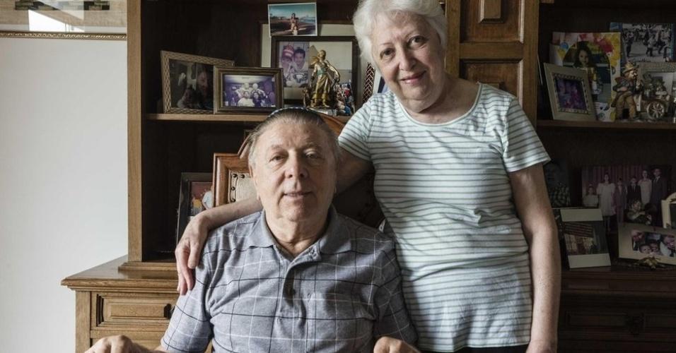 27.jan.2018 - Strul conheceu sua esposa, Manuela, em um baile de Carnaval no Rio, em 1969