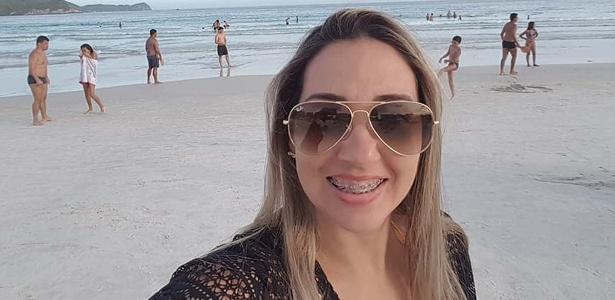 A professora Adriana Ferreira Capitão Pinto, morta na sexta-feira - Reprodução/Facebook