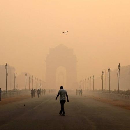 Arquivo - Entre as capitais, Nova Déli (foto) era a mais contaminada - Anushree Fadnavis/Reuters