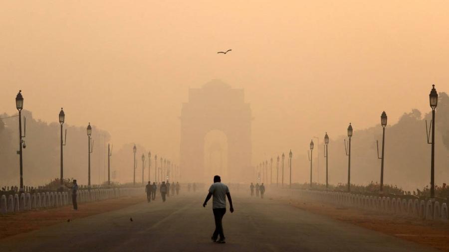 Os impactos da má qualidade do ar na saúde são bem conhecidos - a poluição atmosférica tem sido associada a infecções do trato respiratório, câncer de pulmão e doença pulmonar obstrutiva crônica (DPOC) - Anushree Fadnavis/Reuters