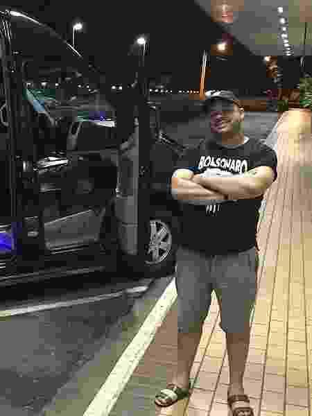Caco Ferry, 38, o dono da agência de viagens que organizou a caravana - Felipe Pereira/UOL - Felipe Pereira/UOL