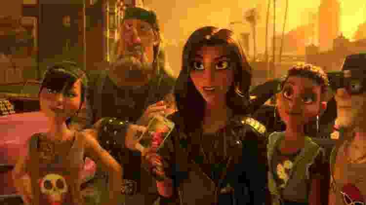 Cena do 'WiFi Ralph', filme da Disney - Divulgação/Walt Disney