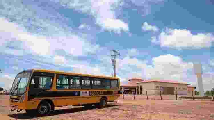 Programa de transporte escolar é um dos que sofreram bloqueio de verbas - André Nery/MEC/BBC