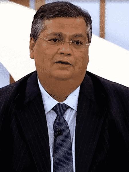O governador do Maranhão, Flavio Dino (PCdoB), em entrevista ao programa Roda Viva - Reprodução