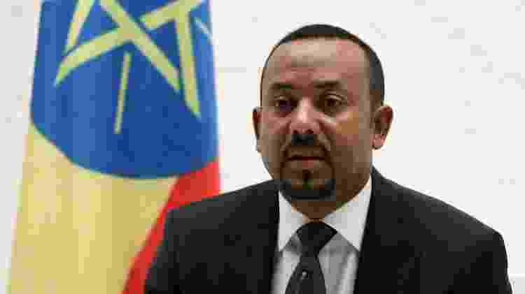 Abiy Ahmed ali é o mais jovem chefe de governo da África - Tiksa Negeri/Reuters