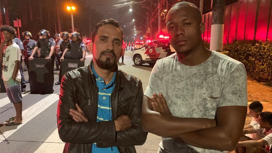 Roberto (dir.) e Guilherme (esq.) eram tios de Gustavo, vítima da tragédia de Paraisópolis - Felipe Pereira