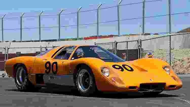 McLaren M6GT amarelo - Top Car Rating - Top Car Rating