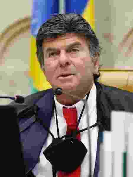 3.jun.2020 - O ministro Luiz Fux, do STF (Supremo Tribunal Federal), presidindo sessão plenária da Corte por videoconferência - Fellipe Sampaio/SCO/STF