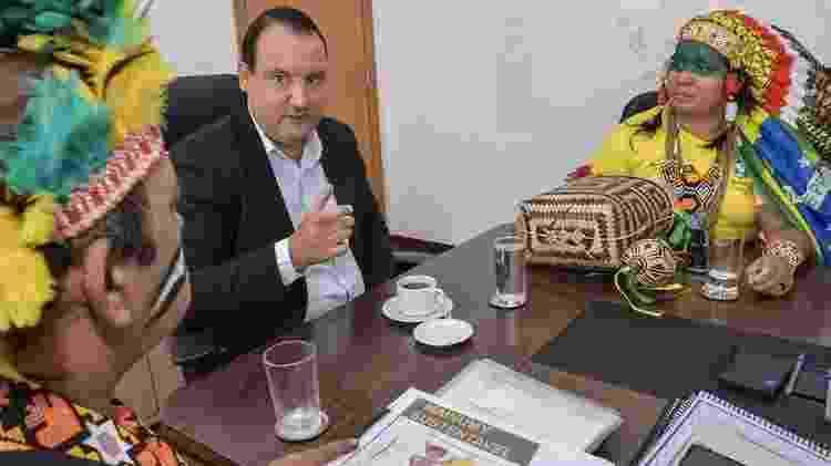 O atual presidente da Funai, Marcelo Augusto Xavier (foto), é ligado à bancada do agronegócio no Congresso - MARIO VILELA/FUNAI - MARIO VILELA/FUNAI