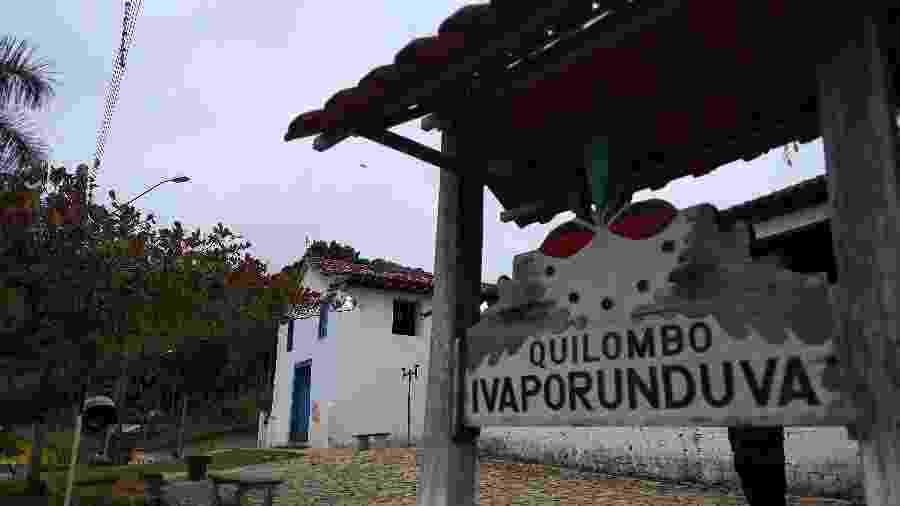 Quilombo de Ivaporunduva, um dos cinco de Eldorado (SP) com título de propriedade - Marcelo Oliveira/UOL