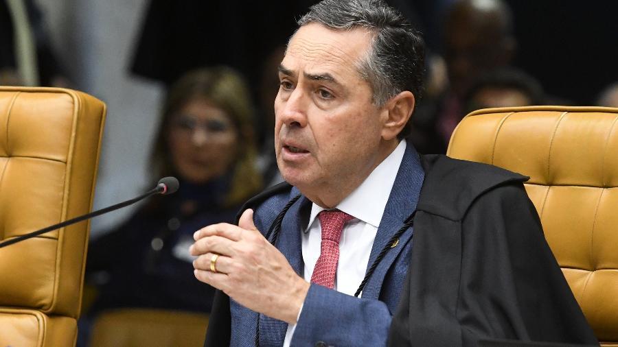O ministro Luís Roberto Barroso, do STF (Supremo Tribunal Federal), exaltou progresso social da democracia em contraste com o período de Ditadura - Carlos Moura/SCO/STF