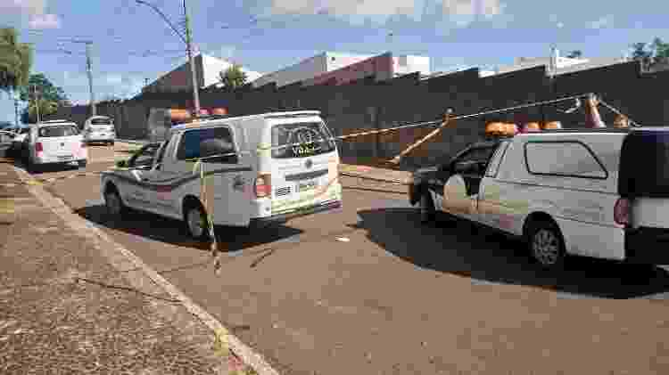 Região do IML de Avaré foi isolada após acidente na região - Camila Fernandes/UOL - Camila Fernandes/UOL