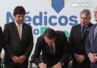 Após anunciar fim do programa, Bolsonaro infla dados e celebra Mais Médicos