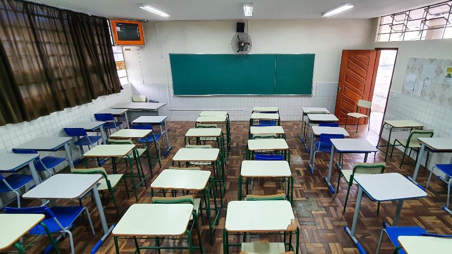 Paraná até o momento deve manter regras para aulas presenciais em agosto - Eduardo Matysiak/Estadão Conteúdo