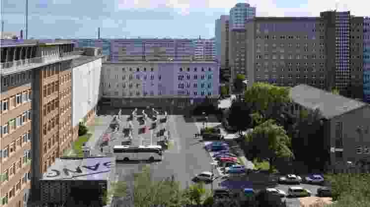 Antiga sede da Stasi em Berlim é hoje um centro visitação e pesquisa chamado 'campus para a democracia' - BStU - BStU