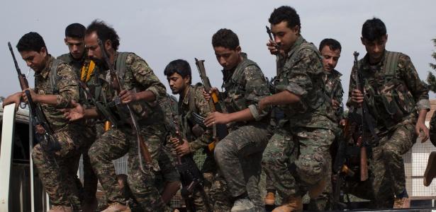 Milícia curda que enfrenta o Estado Islâmico no norte da Síria
