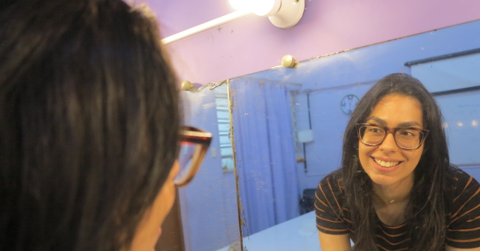 Guilhermina Marques, 23, que estudar audiovisual. Ela conheceu o cursinho através dos saraus que o coletivo Transformação realiza regularmente