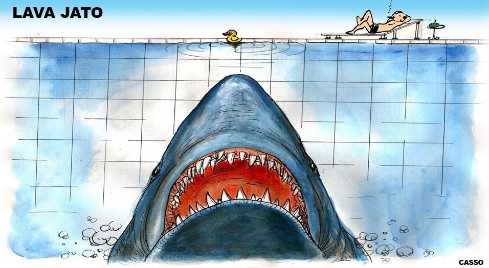 21.out.2016 - Tubarões da política viram patinhos com aproximação da Lava Jato