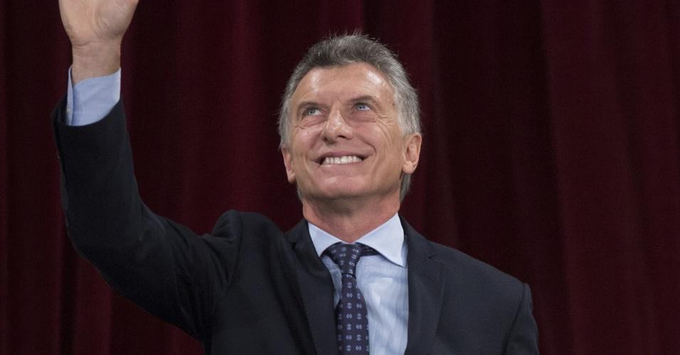 1.mar.2017 - O presidente da Argentina, Mauricio Macri, faz discurso de inauguração do Congresso Nacional, em Buenos Aires