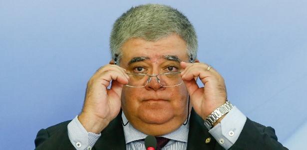 11.abr.2017 - Ministro Carlos Marun (MDB-MS)