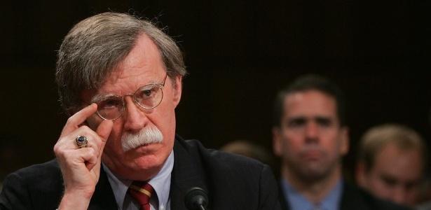 John Bolton foi responsável pela controversa demissão do brasileiro José Bustani da direção da agência da ONU responsável por monitorar uso de armas químicas - Getty Images