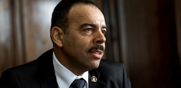 O secretário de segurança pública do Rio, general de divisão Richard Fernandez Nunes