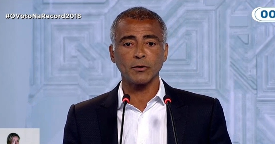 28.set.2018 - Romário debate Record