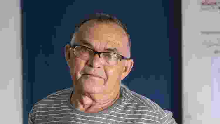 Sofrendo de pouca audição e catarata, Bento Vieira da Silva, de 71 anos, fazia todo o seu tratamento na UBS de Franco da Rocha com uma médica cubana - Gabriela Cais Burdmann