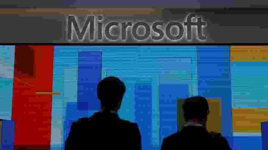 Microsoft - Simon Dawson/Reuters
