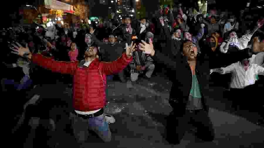 Manifestantes ocupam as ruas de La Paz após denuncia fraude em eleição da Bolívia - Ueslei Marcelino / Reuters