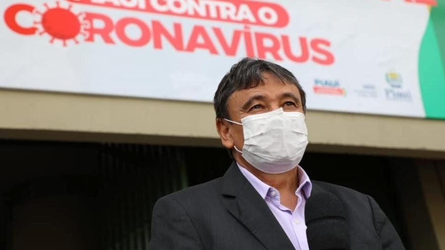 O governador do Piauí, Wellington Dias (PT-PI), disse que está se articulando com outros governadores para dar suporte aos pacientes de Manaus - Reprodução/Facebook