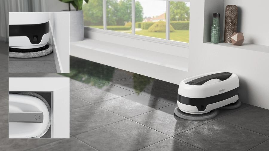 Com ajuda de sensores, o robô de limpeza consegue desviar de obstáculos - Divulgação