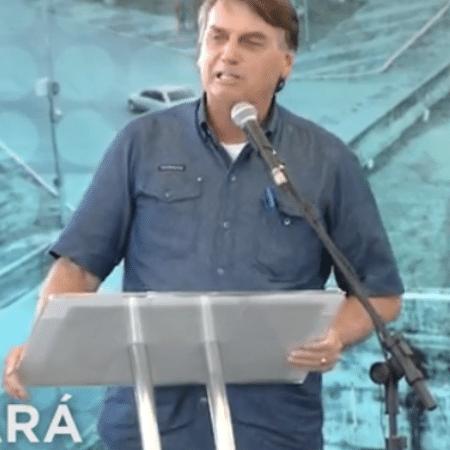 Após quebra de recorde de mortes por covid, Bolsonaro defende volta à normalidade - Reprodução/TV Brasil