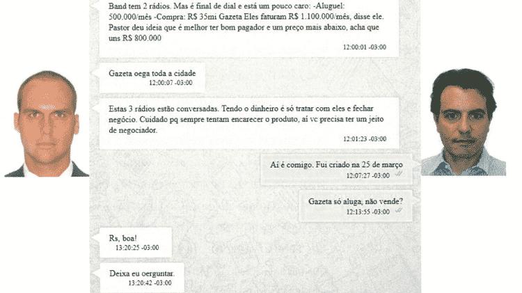 EduardoBolsonaroPF - Reprodução/PF - Reprodução/PF