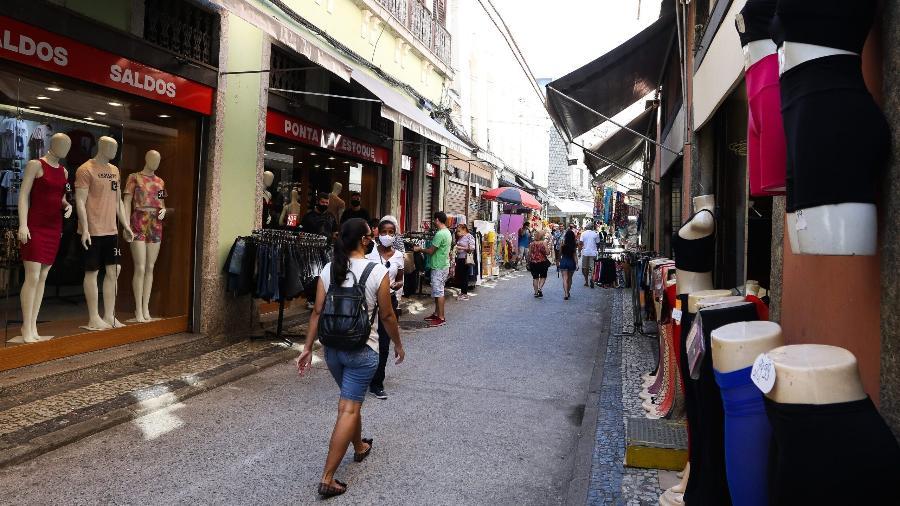 Movimento do comércio registra alta de 0,2% em agosto, aponta pesquisa da Boa Vista - Tânia Rêgo /Agência Brasil