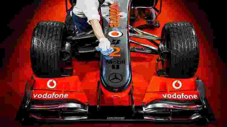 McLaren 2010 - Reprodução/F1.com - Reprodução/F1.com